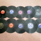 Lot of 10 - Super Priced 78rpm Records - 1910's to 1950's