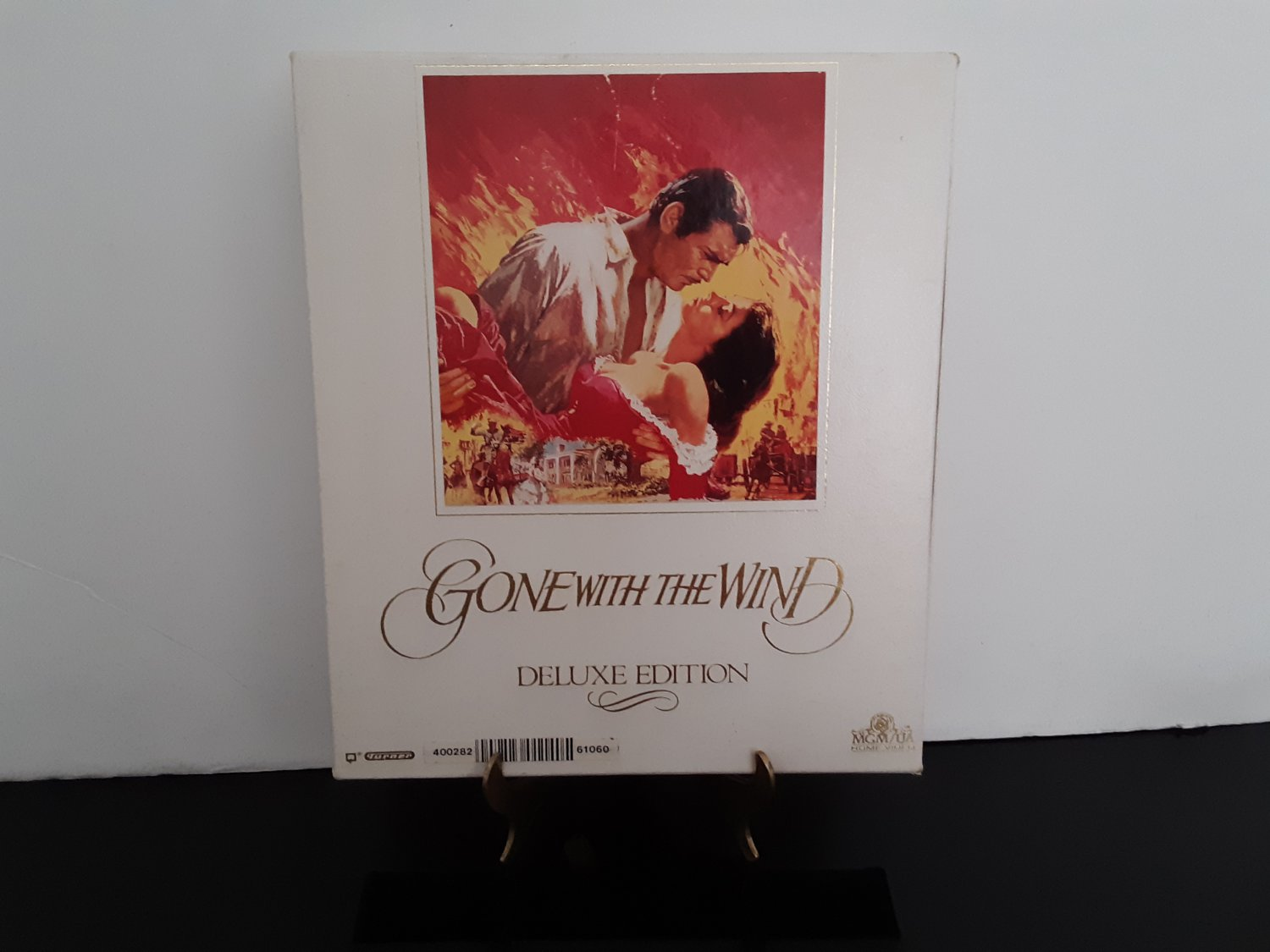 Gone With The Wind - Deluxe Edition - 2 Tape Set - Circa 1990 - VHS Tapes