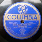 Al Jolson - Alexander's Band Is Back In Dixieland - 78rpm - Circa 1919