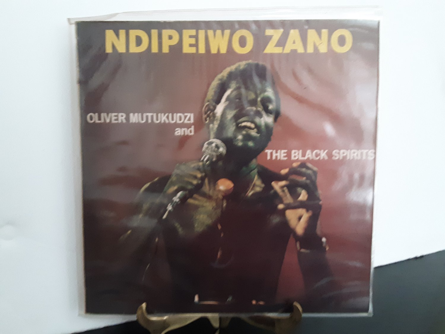 Ultra Rare Vinyl - Oliver Mutukudzi & the Black Spirits - Ndipeiwo Zano  - 1978