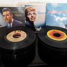 Super Lot of 65 - 45rpm records - The Doors, Frank Sinatra, Styx, Donny Osmond and many more