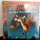 NEW Sealed - Walt Disney - Rudolph The Red Nosed Reindeer - Vinyl & 24 Page Book - Circa 1978