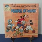 New!  - Walt Disney Discovery Series - Book & Record - People At Work - Mini Lp - Circa 1985
