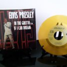 "Elvis Presley - In The Ghetto / If I Can Dream - 7"" Gold Collectible Vinyl - Circa 1985"