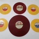 6 Rare - Children's Christmas and Fairy Tales Records + Circa 1950's