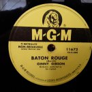 Ginny Gibson - Baton Rouge - 78rpm - Circa 1951