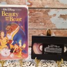 Beauty And The Beast - Disney Classic - Black Diamond Collection - Circa 1992