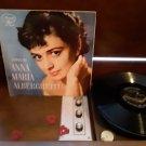 Anna Maria Alberghetti - Songs By Anna - Rare South Africa Release! - Circa 1955