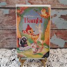 Classic Walt Disney - Bambi - Black Diamond Collection - VHS Tape