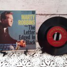 Marty Robbins - The Letter Edged In Black - 45rpm - Circa 1957