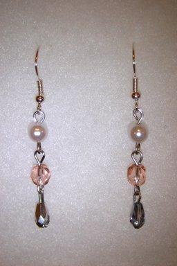 Dangling Pink Earrings