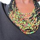 multi-colored necklace