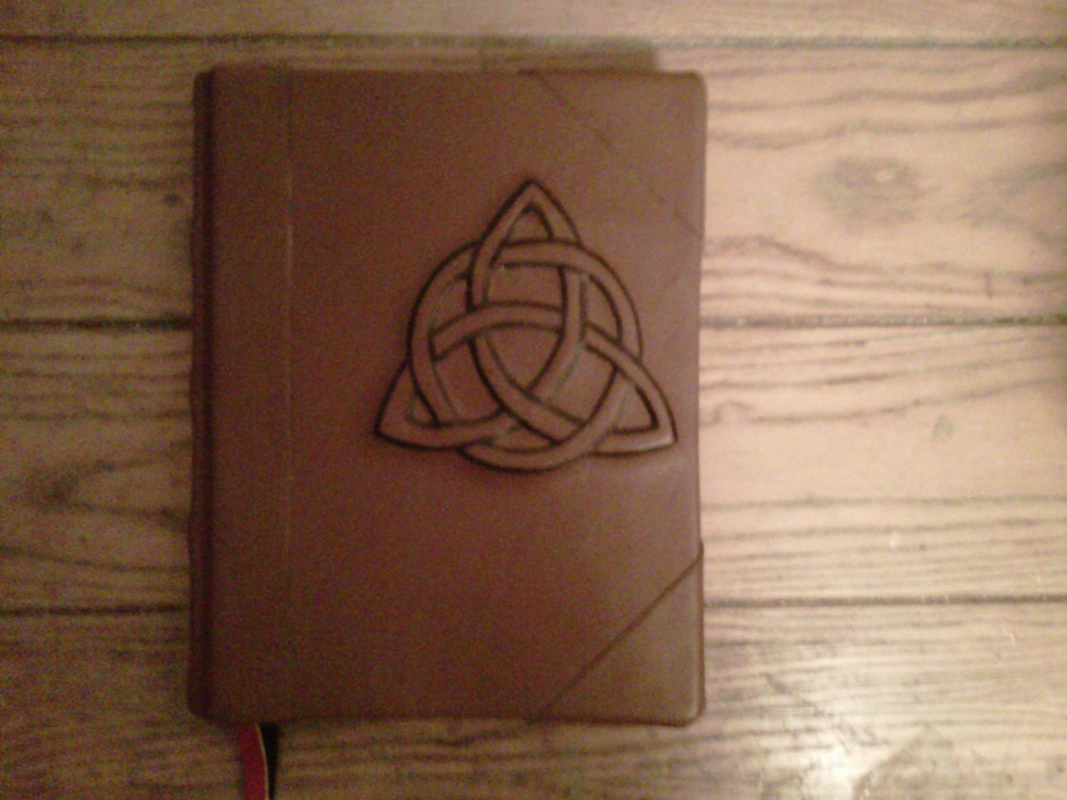 Charmed Book of Shadows style brown Blank