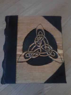 Triquetra Book of Shadows Blank BOS