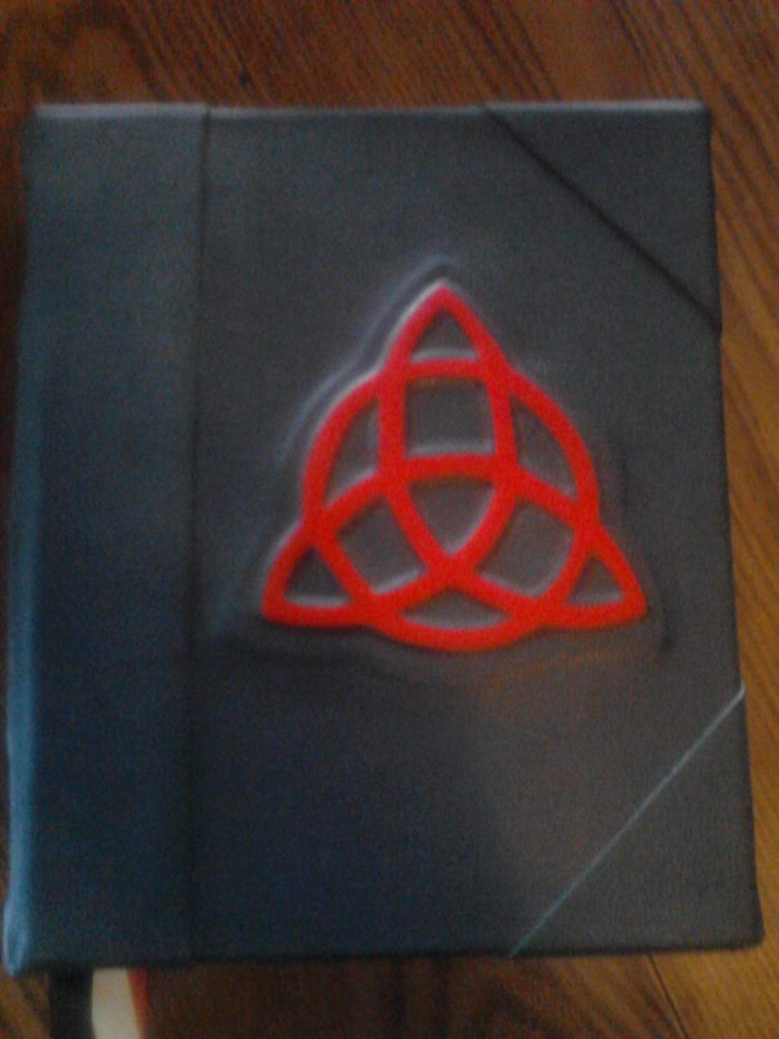 Charmed Book of Shadows style raised Blank