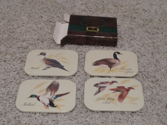 Vintage but new Avon Chesapeake Collection coasters '81