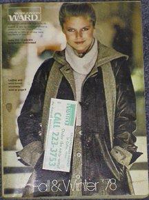 Montgomery Ward Fall & Winter 1978 vintage catalog