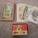 Vintage UNUSED greeting cards assortment in box