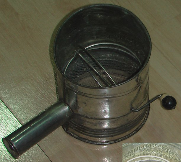 """""""Our Special"""" XXX Heaviest Sifter Made - Vintage & Rare"""