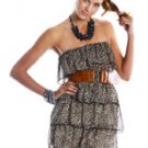 Tube-Top Leopard Print Dress (S,M,L)