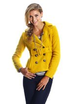 Belted Peacoat (S,M,L)