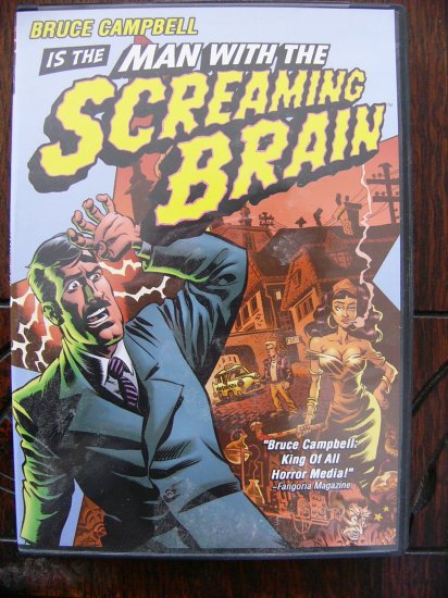 Man with the Screaming Brain with Bruce Campbell