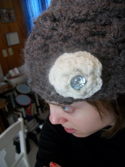 Tam Beret with Flower