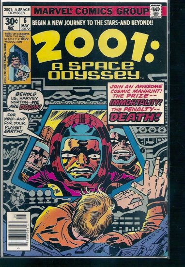 2001: A SPACE ODYSSEY # 6, 6.0 FN