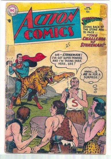 ACTION COMICS # 201, 1.0 FR