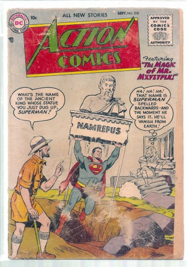 ACTION COMICS # 208, 1.5 FR/GD