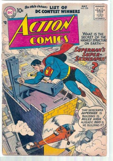 ACTION COMICS # 228, 1.5 FR/GD