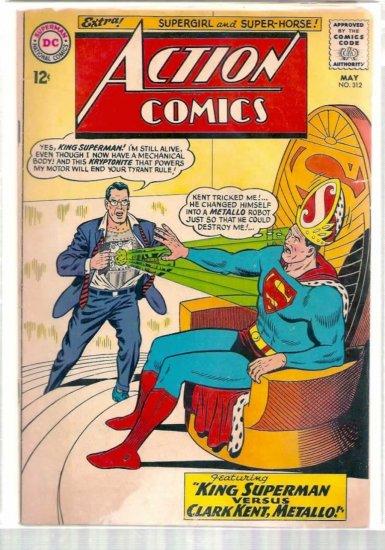 ACTION COMICS # 312, 3.0 GD/VG