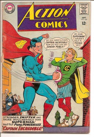 Action Comics # 354, 2.5 GD +
