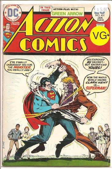 Action Comics # 431, 4.5 VG +