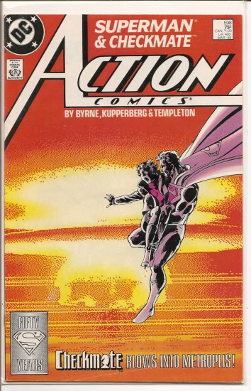 Action Comics # 598, 4.5 VG +