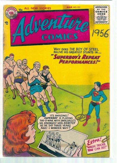 ADVENTURE COMICS # 222, 1.8 GD -