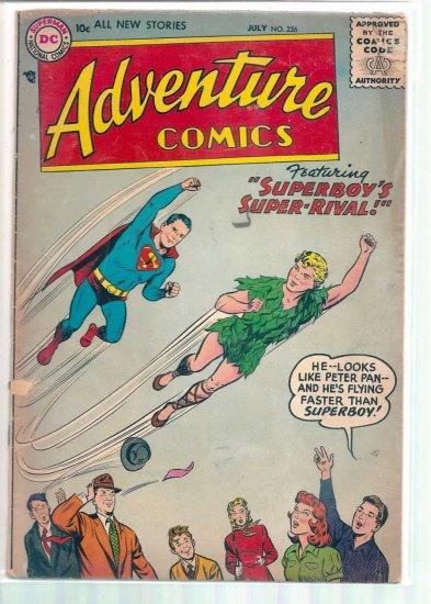 ADVENTURE COMICS # 226, 2.0 GD