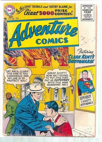 ADVENTURE COMICS # 228, 1.8 GD -