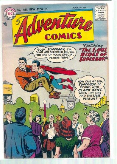ADVENTURE COMICS # 234, 4.5 VG +