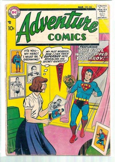 ADVENTURE COMICS # 246, 1.5 FR/GD