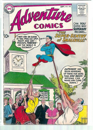 ADVENTURE COMICS # 252, 2.0 GD