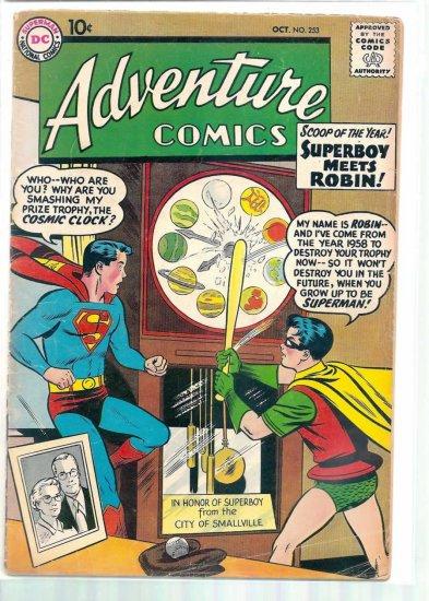 ADVENTURE COMICS # 253, 3.5 VG -