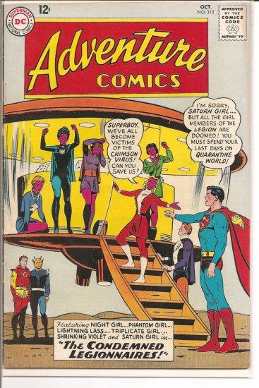 Adventure Comics # 313, 4.5 VG +