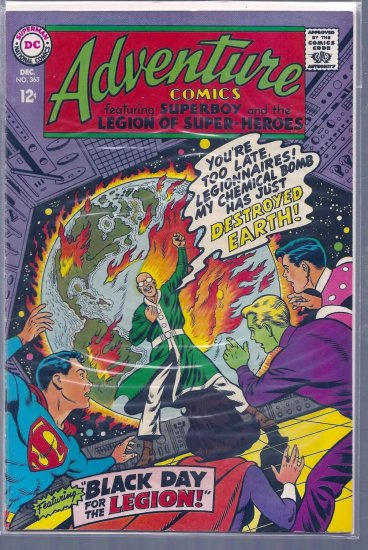 Adventure Comics # 363, 6.0 FN