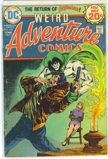 Adventure Comics # 435, 3.0 GD/VG