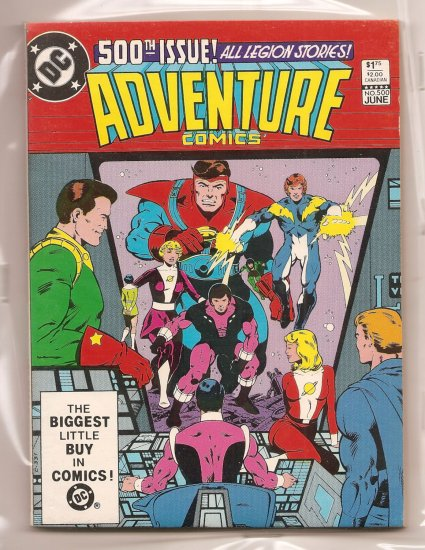 Adventure Comics # 500, 8.0 VF