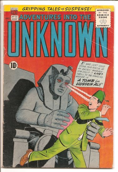 ADVENTURES INTO THE UNKNOWN # 126, 4.0 VG