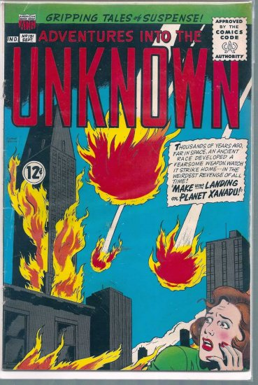 ADVENTURES INTO THE UNKNOWN # 151, 4.0 VG