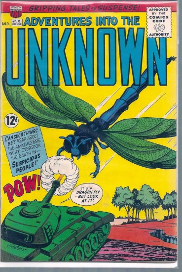 ADVENTURES INTO THE UNKNOWN # 152, 4.5 VG +