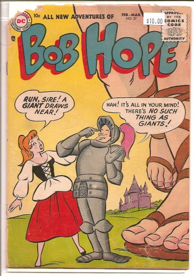 Adventures of Bob Hope # 37, 1.0 FR